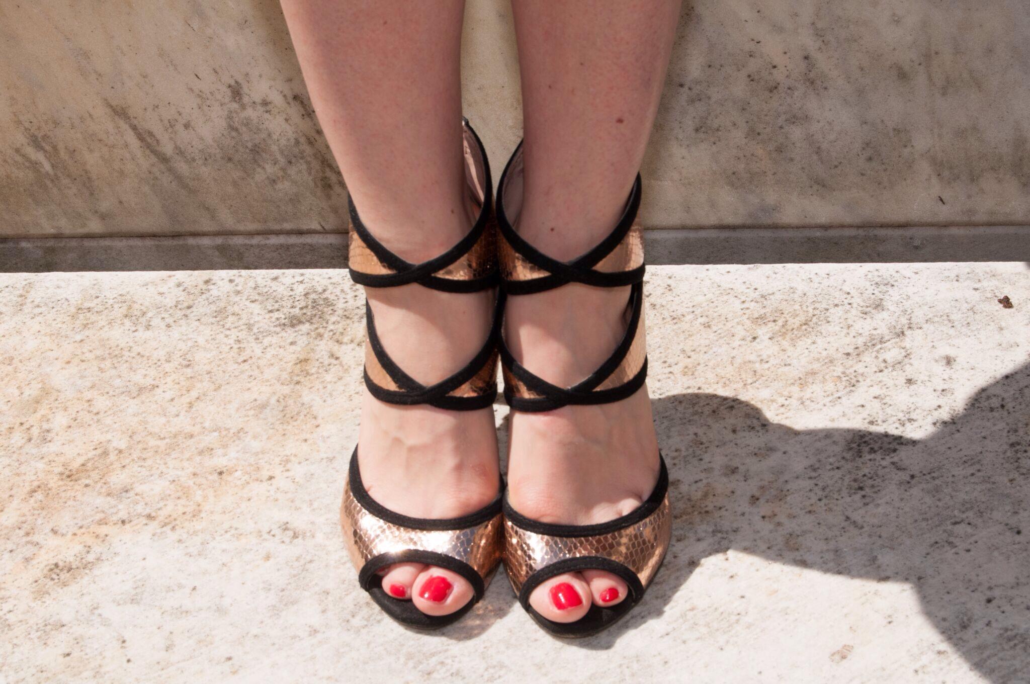 sandalo tronchetto metsl- metal ancle boots- personal shopper genova