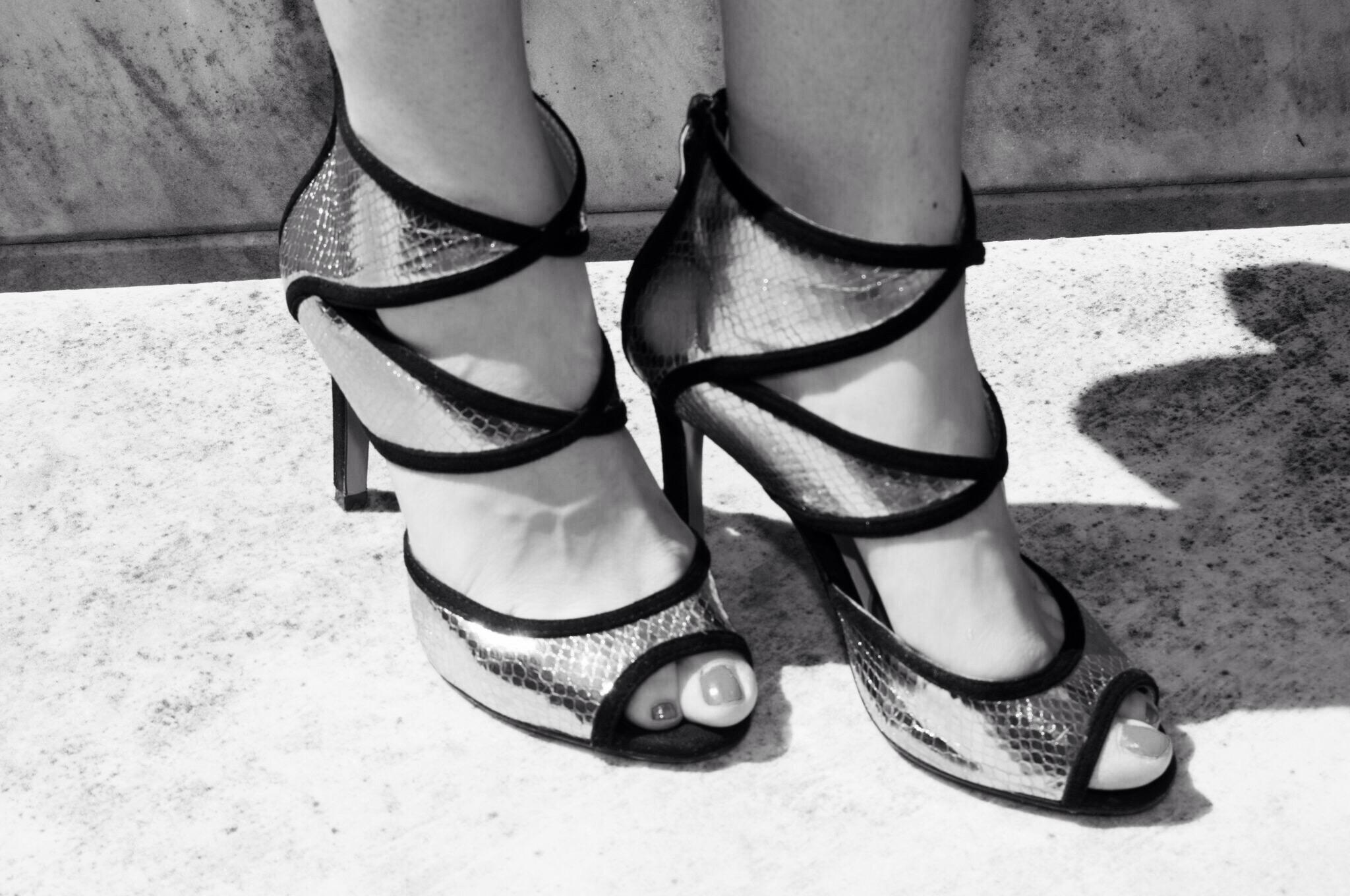 sandalo tronchetto metal- metal ancle boots- personal shopper genova
