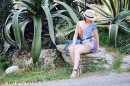 abito con stampa patchwork - personal shopper genova
